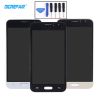 AAA 4 7 Golden LCD Display Touch Screen Digitizer Assembly For Samsung Galaxy J1 J120 J120F