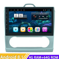 Roadlover Android 8.1 Car Media Center Autoradio For Ford Focus 2008 2011 Auto Stereo GPS Navigation Magnitol Double Din NO DVD