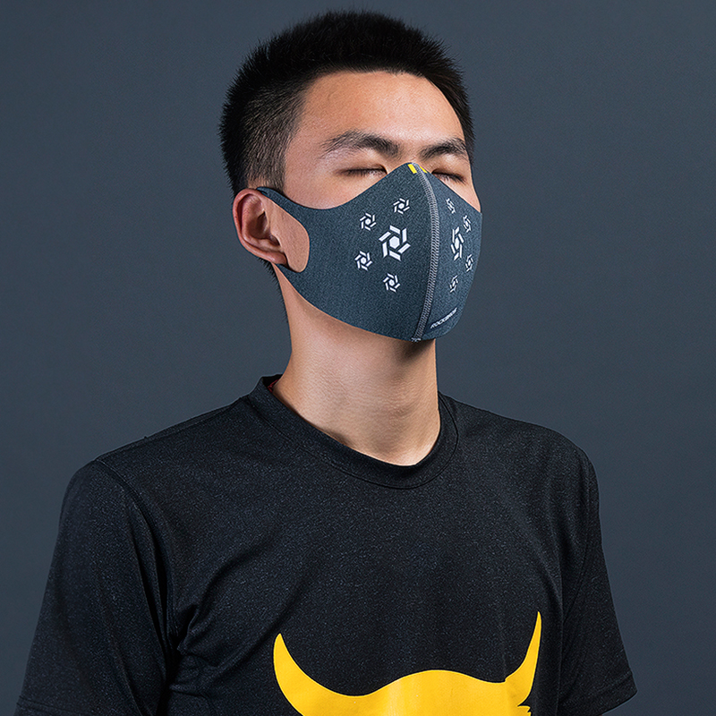 Cycling Accessories Strong-Willed Rockbros Cycling Face Mask Filter Anti-dust Haze Mouth-muffle Face Cover