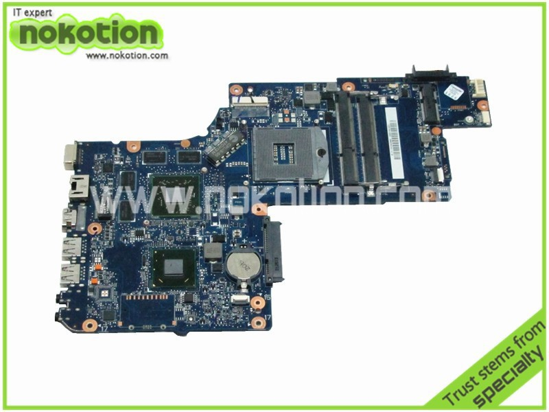 NOKOTION laptop motherboard for toshiba satellite C870 L870 L875 17.3 Screen ATI Mobility Radeon HD HD4000 Mainboard H000046340 h000041580 for toshiba satellite l870d c870 c870d laptop motherboard 17 3 ati graphics plac csac dsc mainboard