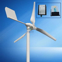 New Arrived 600w MAX POWER 800W Horizontal Wind Turbine With Wind Charge Controller And 1000w Pure