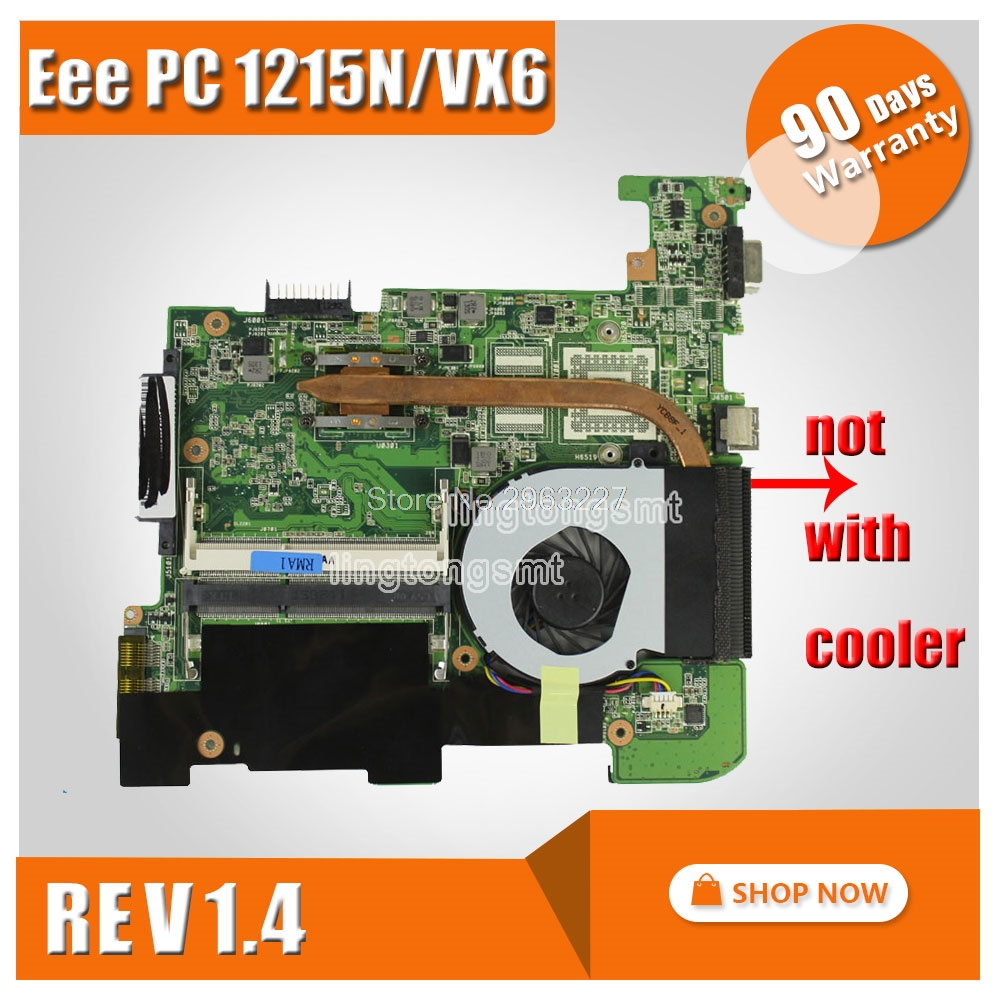 цена на 1215N/VX6 Motherboard rev 1.4 For ASUS Eee PC 1215N/VX6 Laptop motherboard 1215N/VX6 Mainboard 1215N/VX6 Motherboard test 100%