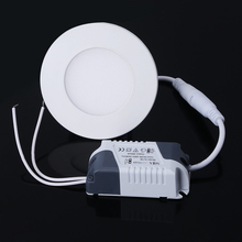 Round Led Panel Light SMD 2835 3W 6W 9W 12W 15W 18W 20W AC 85-265V Led Ceiling Recessed lamp Led downlight+driver for indoor