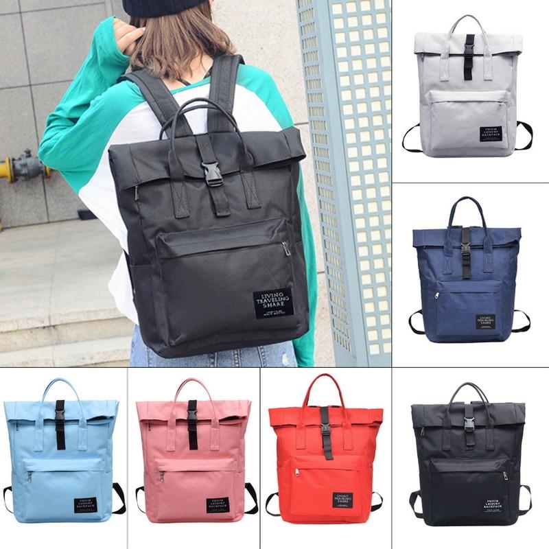 Women's Canvas Backpack School Girls Travel Backpack 2018