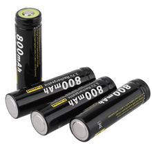 Soshine 4x 3.7V AA 14500 800mAh Rechargeable Li-ion Battery w/ PCB Protected Board JN43