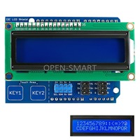 I2C LCD 1602 Shield Display Module With Touch Keys White Backlight For Arduino UNO Mega2560