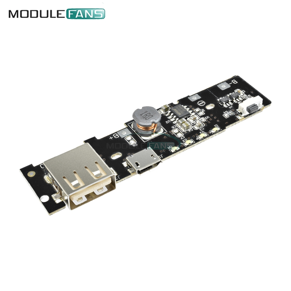 5v 21a Lithium Battery Power Bank Charger Module Charging Circuit Ion Pcb Board