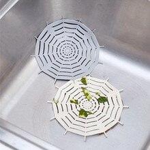 Sink Strainer Colander Bathroom Silicone Catcher Hair-Stopper SEWER-FILTER Kichen-Tool