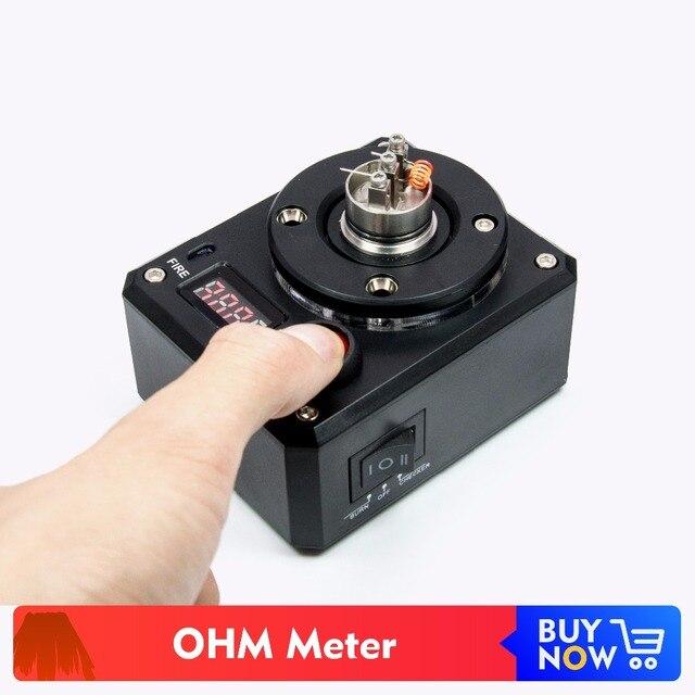 Volcanee multi fonction OHM mètre testeur de tension résistance Ohm lecteur fièvre brûlante pour E Cigarette RDA chauffage bobine fil bricolage
