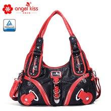 Роскошная женская сумка, модная большая сумка на плечо, высокое качество, повседневная сумка на молнии, женская сумка с верхней ручкой, женская сумка-мешок