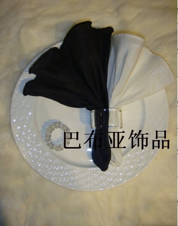 Table cloth napkin mouth cloth dining table supplies decoration home decoration fabric table napkin 034