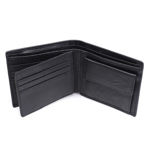 Image 5 - 100% Genuine Leather Wallet Men New Brand Purses for men Black Brown Bifold Wallet RFID Blocking Wallets With Gift Box MRF7