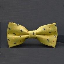 luxury bowknot adult bow tie 12*6cm striped dot adjustable belt butterfly shirt accessories 2pcs/lot