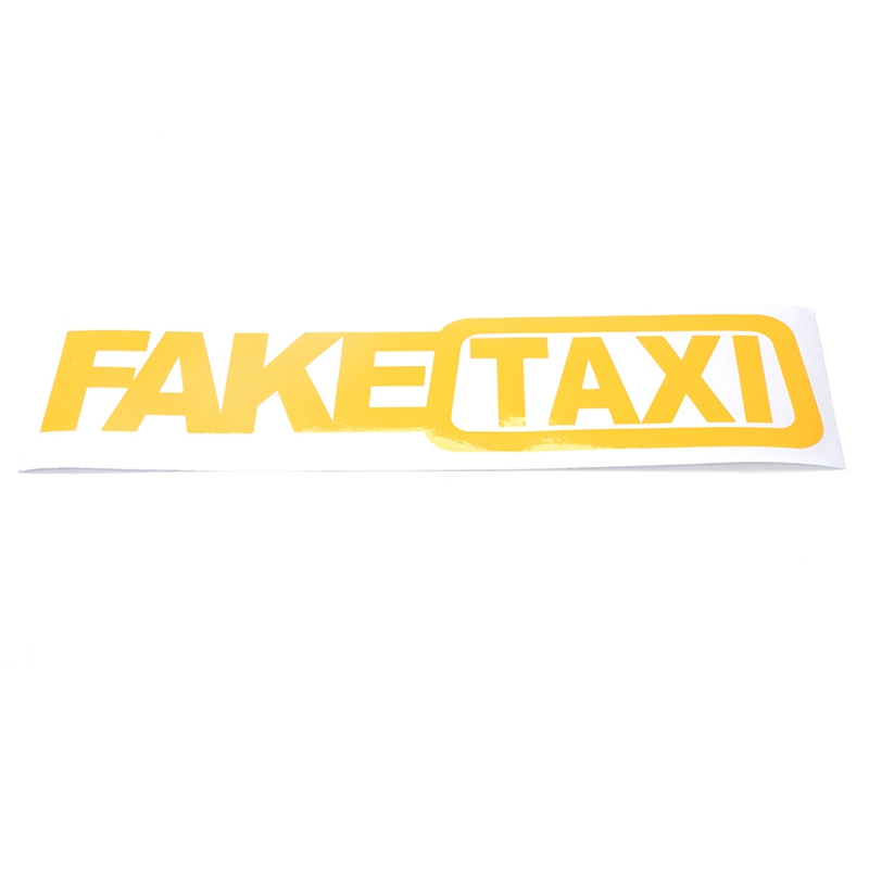Removable Car Vehicle Sign Safety Bumper Signs fake taxi funny bumper stickers
