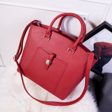 Fashion New Embossed Leather font b Handbag b font Women Retro Trendy Simple Bag High Quality