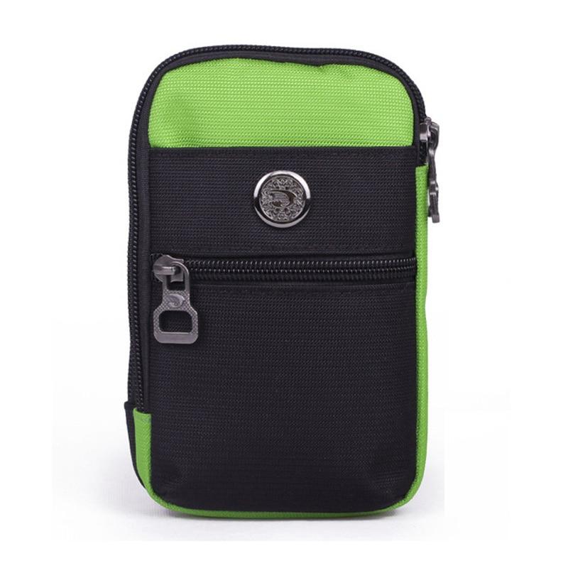 Kis derékcsomagok 2018 Új férfi utazási deréktáskák Többfunkciós nők lovaglás Fanny csomagok Mobiltelefon táskák