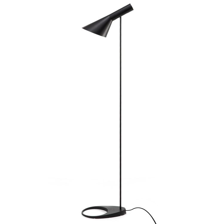 Replica Arne Jacobsen Louis Poulsen Aj Floor Lamp Metal Lampshade Standing Lights For Living Room 110 240v In Lamps From