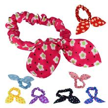 Beauty Styling Tools Hair bands Lovely Mini Small Bunny Rabbit Ears Headband Hair Rope Rubber Bands Baby