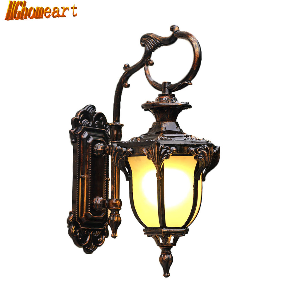 Outdoor Waterproof Wall Lamp Garden Garden Door Outdoor Wall European Villa Balcony Corridor Courtyard Street Lamp Retro european retro outdoor wall lamp villa balcony garden lamp retro wall lamp outdoor retro lamps