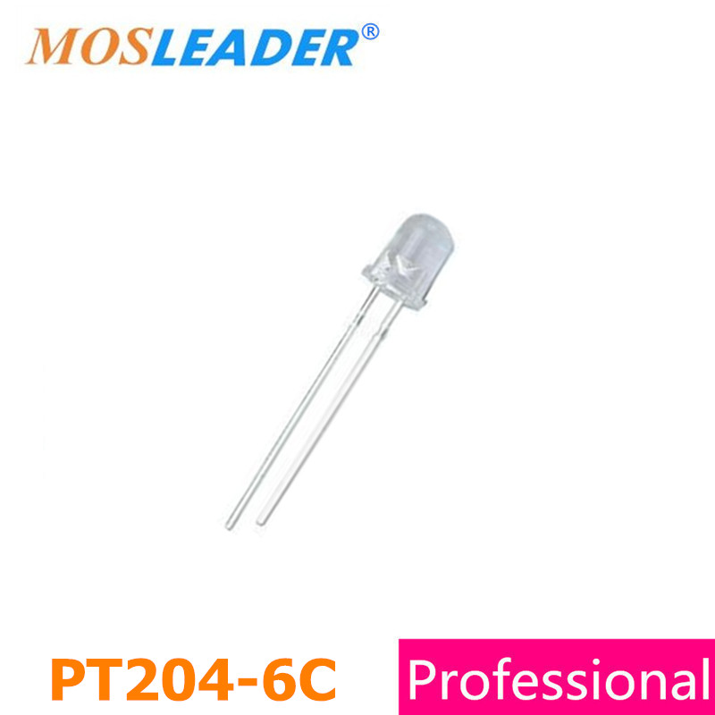 Mosleader DIP PT204-6C 1000PCS PT204 3mm Phototransistor Water clear high quality stc15f104e 35i dip 15f104 dip8