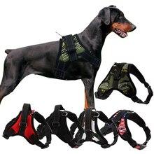 Прочный Светоотражающий Поводок для собак, регулируемый поводок для больших собак, поводок для прогулок для маленьких, средних и больших собак, питбуль