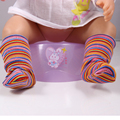 Zapf Baby Born Doll Socks Sets fit 43cm Zapf Doll Baby Born Doll Accessories Charms Style S6