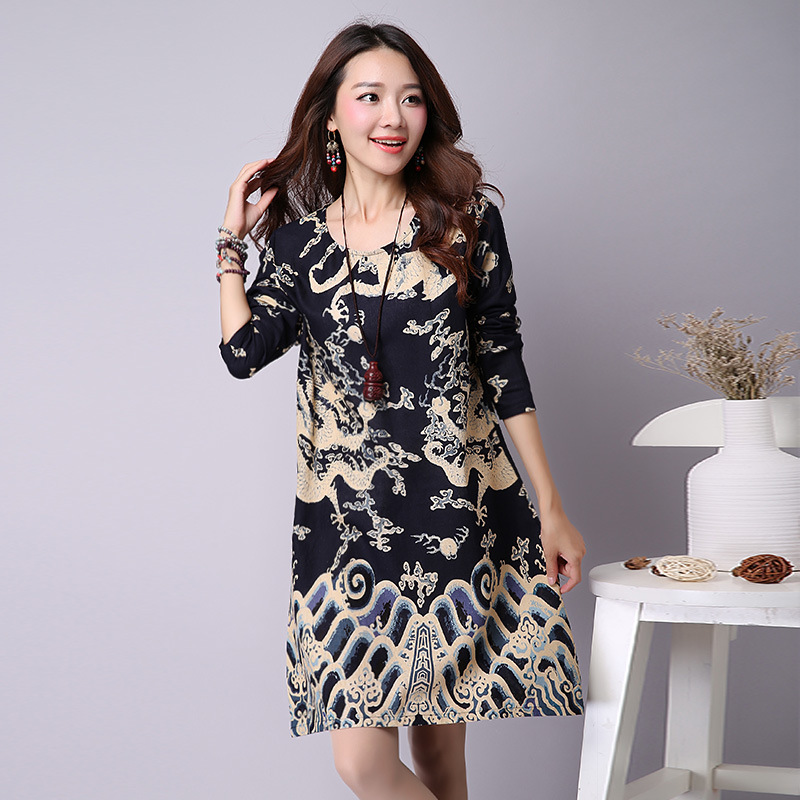 Autumn/spring Pregnant dresses Maternity Clothing Materniry Dresses cotton and linen blend Maternity skirt womens clothes 15576