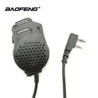 baofeng uv 1 / 2pcs Baofeng UV-82 אביזרים Talkie Walkie Dual PTT מיקרופון רמקול מיקרופון Baofeng שני הדרך רדיו UV 82 UV-8D UV-89 UV-82HP (1)