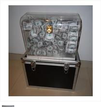 Crystal Money Chest – Magic Trick,Stage Magic Props,Close Upmagic,Mentalism,Comedy,Party Trick,Illusions,Magia Toys,Gadgets,Joke