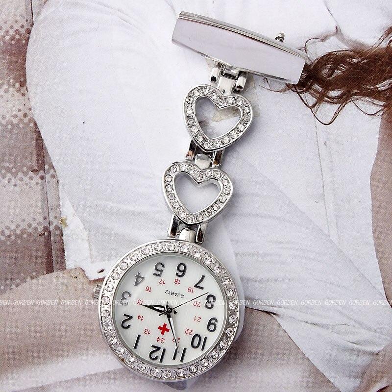 2018 сәнді медбикелер Pocket Watch Әйелдер Chic - Қалта сағаты - фото 3