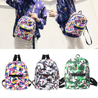 Top Women Backpack 2017 Hot Sale Fashion Causal High Quality Cartoon Penguin PU Leather Backpacks For