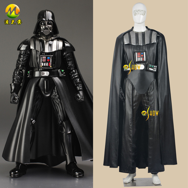 star wars cosplay darth vader adult star wars costumes darth vader outfit halloween party carnaval apparel - Halloween Darth Vader