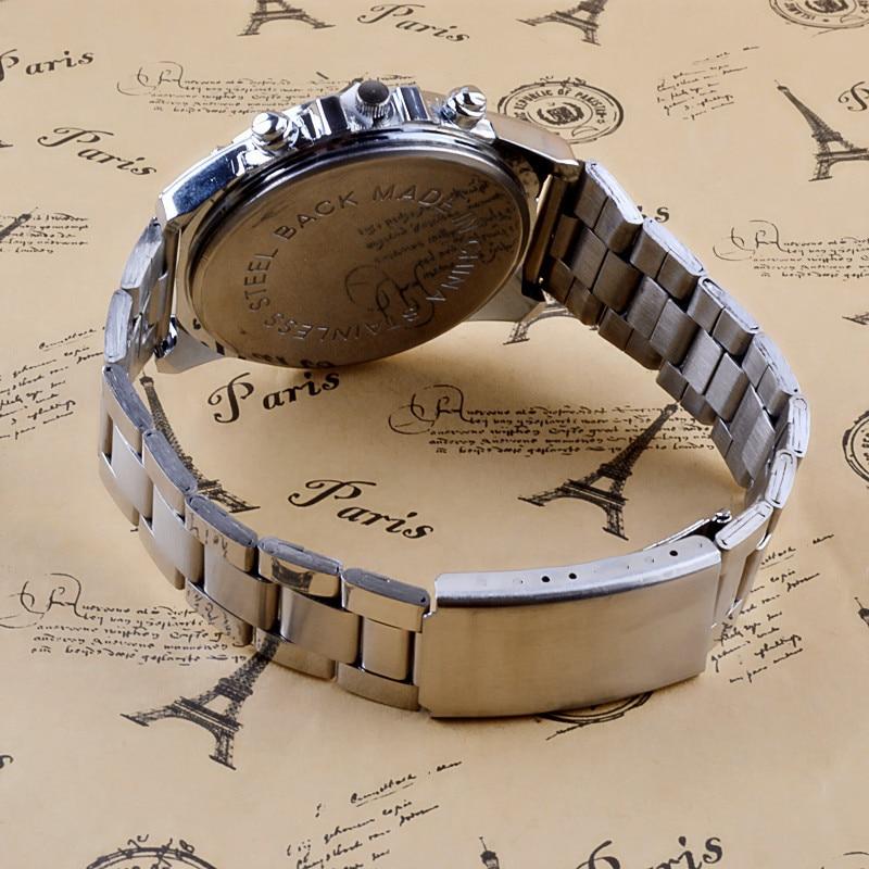 2019 Men s Luxury Quartz Watch Men Business Stainless Steel Band Sport Wristwatch Hour Clock Relogio 2019 Men's Luxury Quartz Watch Men Business Stainless Steel Band Sport Wristwatch Hour Clock Relogio Masculino Relojes Hombre
