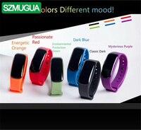 SZMUGUA 5 шт. Smart Сердечного ритма мониторы приборы для измерения артериального давления кислорода трекер измерения Шагомер Спорт бр
