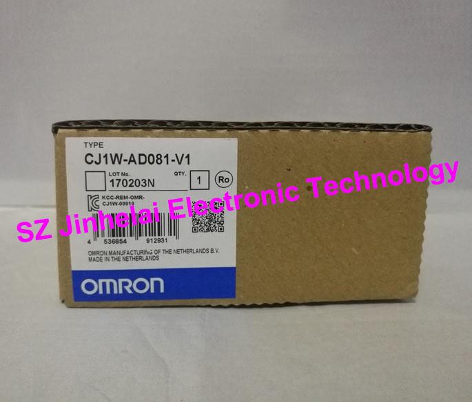 OMRON Analog input unit CJ1W-AD081-V1 New and original 100% new and original cj1w nc433 omron position control unit