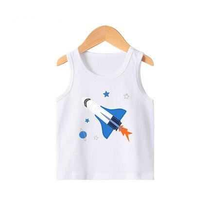 VIDMID New Summer Children Girls boys T-shirts Kids Cotton Short Sleeve Tees Casual Cartoon Tops for 2-8 year Girls boys 4101 01 5