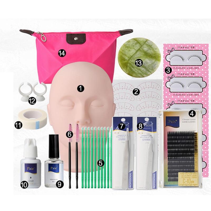 Semi Permanent Individual Eyelash Extensions Curl Eye Lash Starter Makeup Kit брюки горнолыжные rip curl rip curl ri027emzlc69