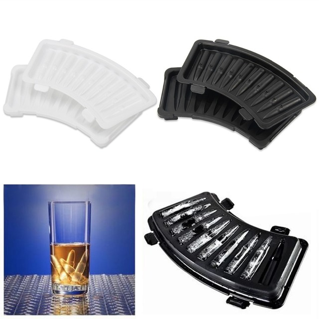 US $2 95 |Silicone Ice Cube Mold Bullet Shape Ice Cube Tray DIY Ice Cream  Maker Molds Drinking Bar Tool Kitchen Accessories Cooking Tools-in Ice  Cream