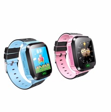 Sim Card Youngsters SmartWatch LBS with Lighting Digital camera Contact Screan Clock Protected child Watch Cellphone Location SOS Name Monitor 2018