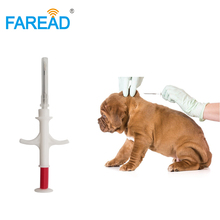 1.4x8/2.12x12mm standard FDX-B ISO11784/5 RFID implant chip syringe Animal microchip for pets dog cat fish farm horse veterinary