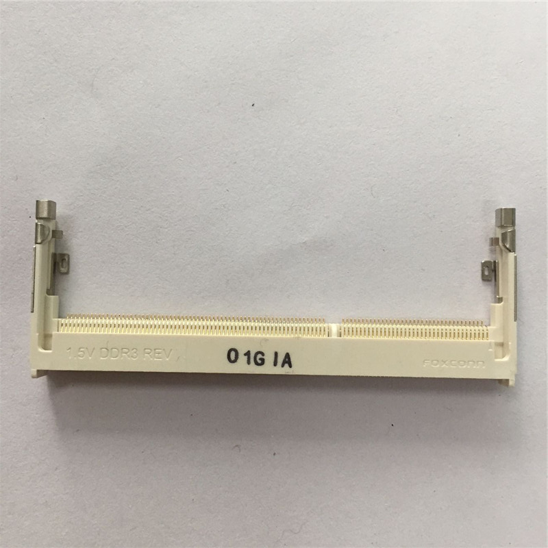 1PCS Notebook Memory Slot Socket 1.5V DDR3 REV Reverse 204P 5.2H 5.2MM O1GIA