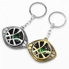 Marvel keychains Eye of agamotto Superhero keychains Doctor strange keychain Key fob