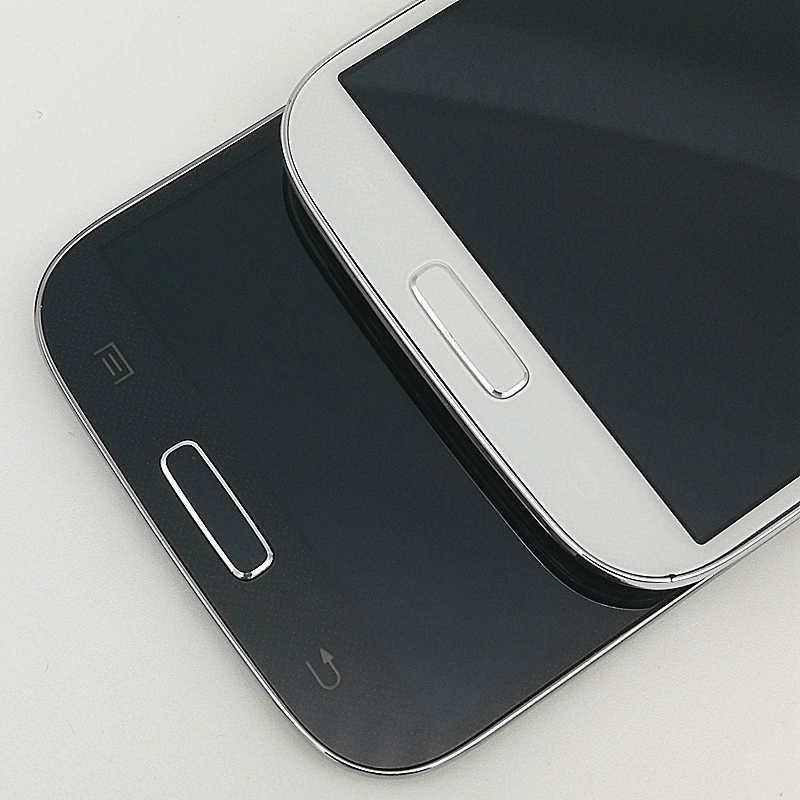 S4 شاشات lcd لسامسونج غالاكسي S4 I9500 I9505 I9506 I337 شاشة إل سي دي باللمس شاشة مع الإطار 100% اختبار
