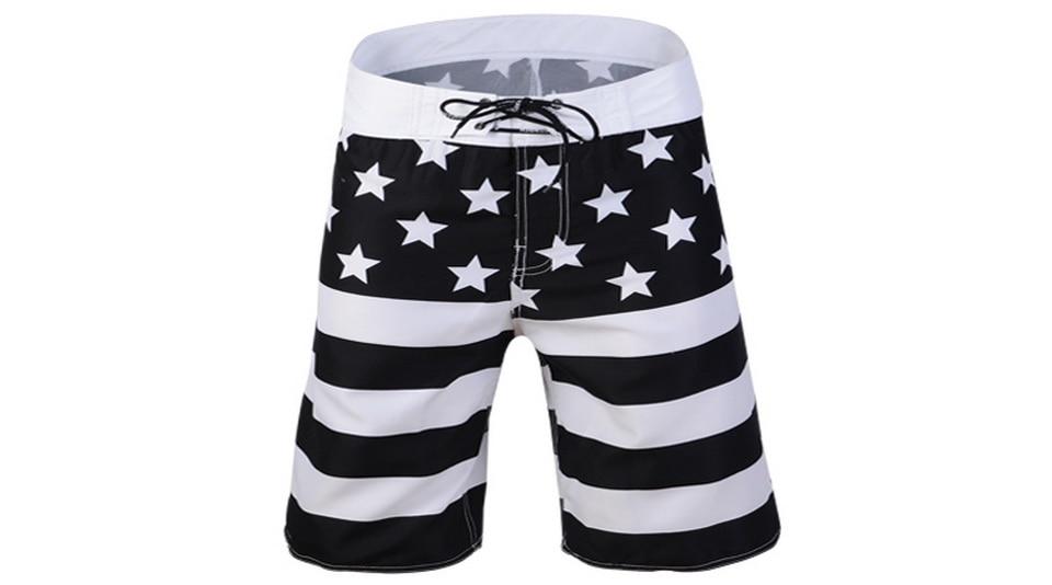 calças curtas beachwearr boardshorts 301