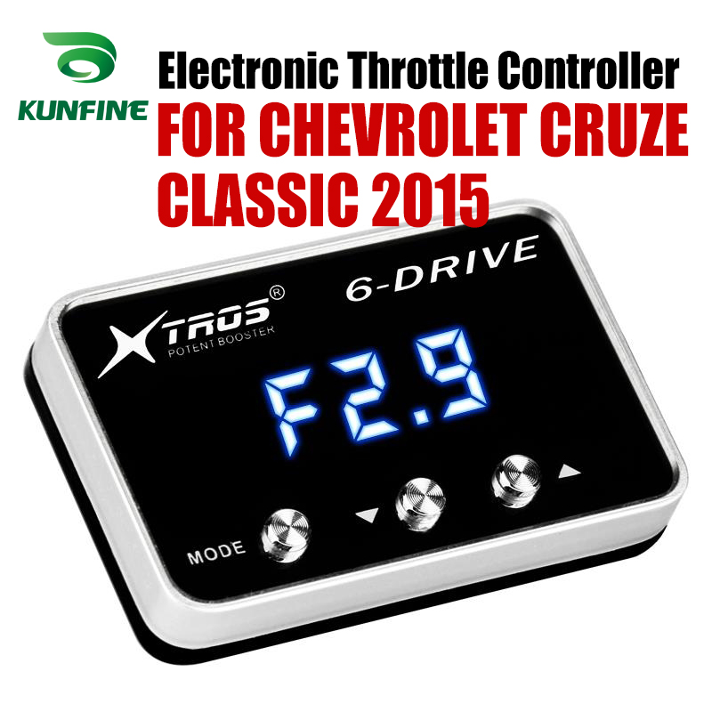 Car Electronic Throttle Controller Racing Accelerator Potent Booster For CHEVROLET CRUZE CLASSIC 2015 Tuning Parts AccessoryCar Electronic Throttle Controller Racing Accelerator Potent Booster For CHEVROLET CRUZE CLASSIC 2015 Tuning Parts Accessory