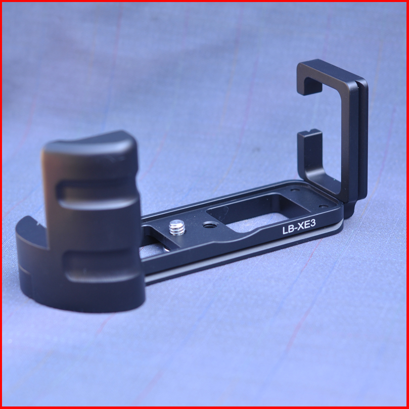 Pro Vertical L Type Bracket Tripod Quick Release Plate Grip Handle For Fujifilm XE3 X-E3