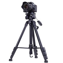 YUNTENG 690 dslr camera video tripod fluid head photo camcorder stand monopod professional portable travel photography studio