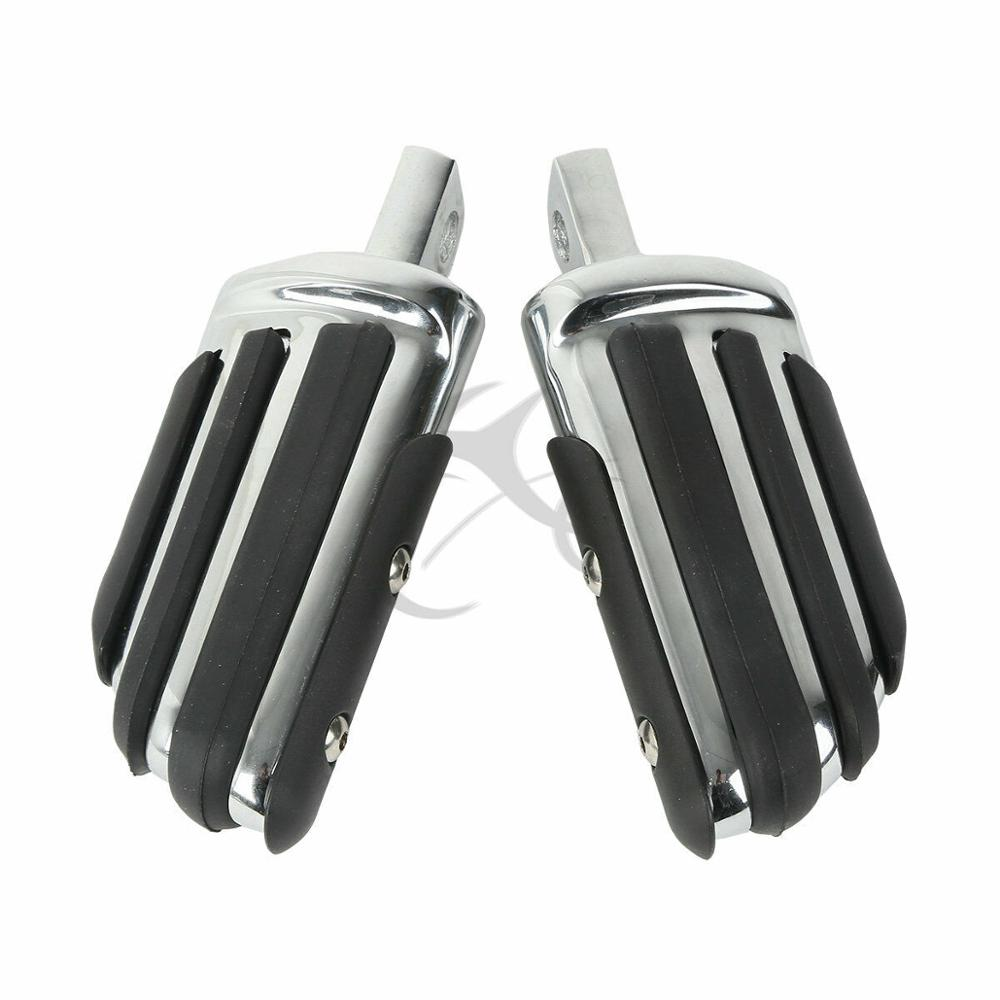 Motorcycle 3 Colors Pilot Male Mount-Style Foot Pegs For Harley Touring Road King Electra Road Glide Sportster