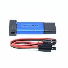 1PCS TENSTAR ROBOT Stlink ST-Link V2 Mini STM8 STM32 Simulator Download Programmer Programming With Cover