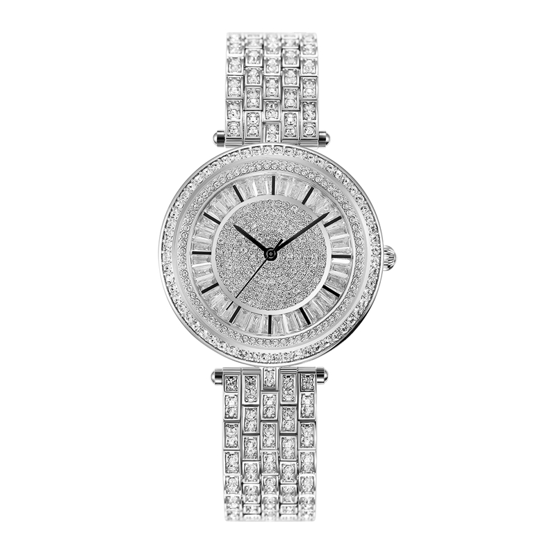 Full Diamond Female Watches Woman Quartz Watch Ladies Fashion Clock Steel Bracelet Waterproof Table Top Brand Luxury Reloj Mujer shengke top brand luxury watch woman fashion steel quartz watch female monterrey woman watch relogio feminino reloj mujer 2017